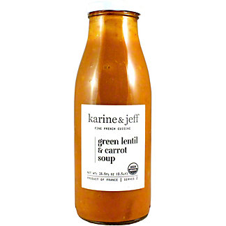 Karine & Jeff Green Lentils Carrot Soup, 16.9 OZ