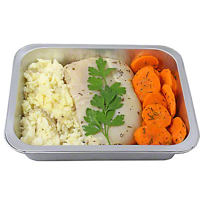 Ready to Cook Lemon Rosemary Chicken with Dill Carrots and Mashed Potatoes, ea