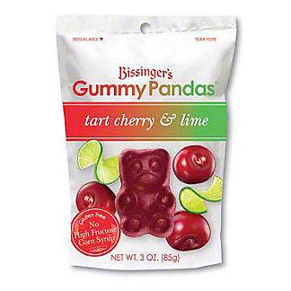 Bissingers Tart Cherry Lime Gummy Pandas, 3 OZ