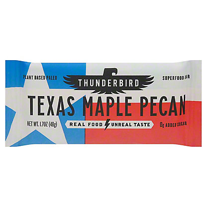 Thunderbird Energetica Texas Maple Pecan Real Food Bar, 1.7 oz