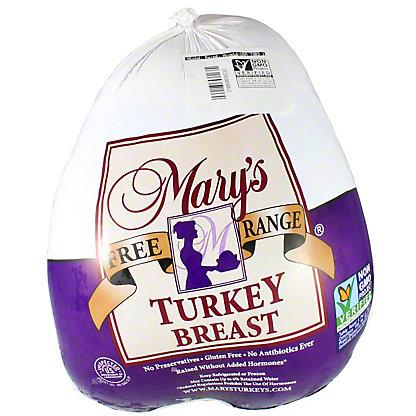 Mary S Free Range 4 8 Lb Turkey Breast By Lb Central Market