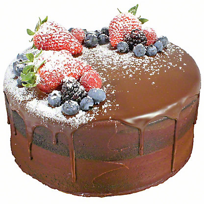 Central Market Chocolate Naked Cake, 8 inch
