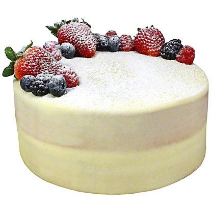 Central Market White Naked Cake, 8  in