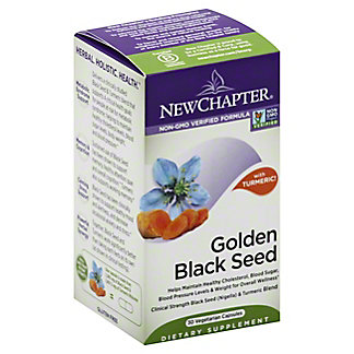 New Chapter Golden Black Seen Capsules, 30 ct