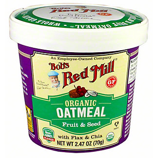 BOB RED MILL ORG FRT & SEED OA