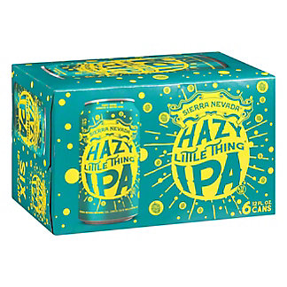 Sierra Nevada Hazy Little Thing IPA 12 oz Cans, 6 pk