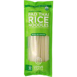 Lotus Foods Pad Thai Noodles Organic Traditional, 8 oz