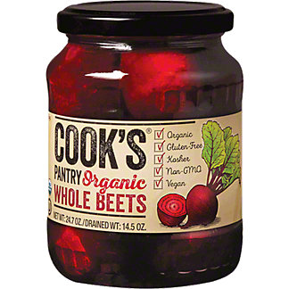 Cooks Pantry Organic Whole Beets, 25 oz