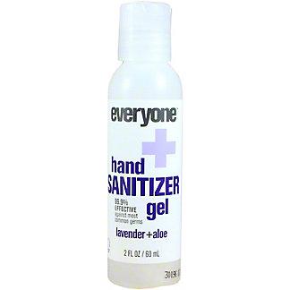 Everyone Hand Sanitizer Gel Lavender & Aloe, 2 OZ