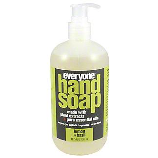 EO Everyone Hand Soap Lemon & Basil, 12.75 oz