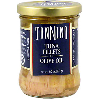 Tonnino Tuna Fillets In Olive Oil, 6.7 OZ