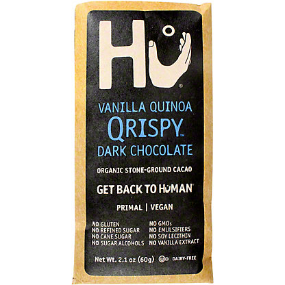 Hu Kitchen Vanilla Quinoa Crispy Chocolate Bar, 2.1 oz