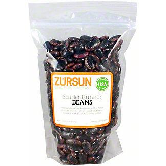 Zursun Scarlet Runner Beans, 20 oz