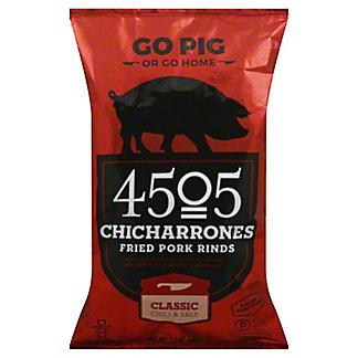 4505 Classic Chili & Salt Chicharrones Fried Pork Rinds, 2.5 oz