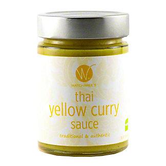 Watcharees Thai Yellow Curry Sauce, 12.2 oz