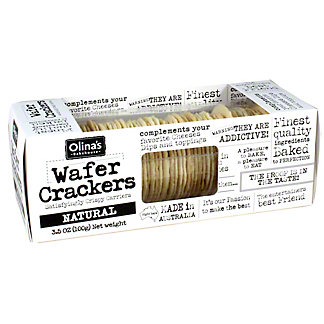 Olinas Bakehouse Natural Wafer Crackers, 3.5 OZ