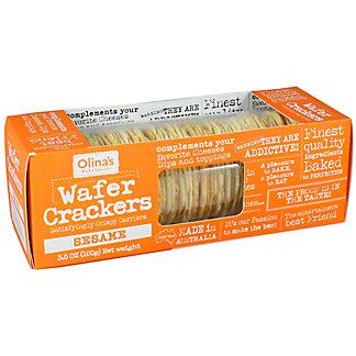 Olinas Bakehouse Sesame Wafer Crackers, 3.5 OZ