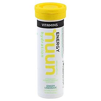 Nuun Hydration Ginger Lemonade Beverage Tab, 12 ct
