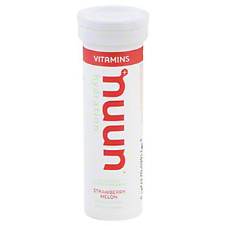 Nuun Hydration Strawberry Melon Beverage Tab, 12 ct
