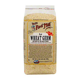 Bobs Red Mill Wheat Germ Raw Natural, 12 oz