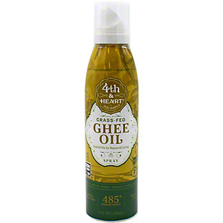 4th & Heart Grass Fed Ghee Oil Spray, 5 oz