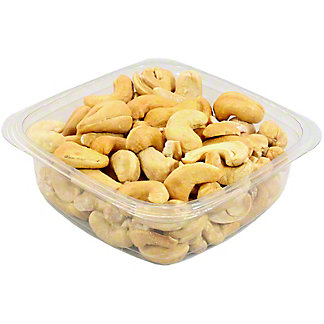In House Roasted Colossal Roasted Unsalted Cashews, lb