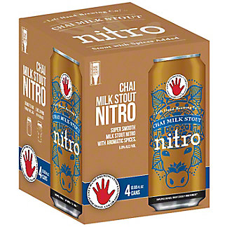 Left Hand Brewing Nitro Seasonal, 4 pack