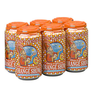 Saint Arnold Orange Show Blonde Ale, 6 pack