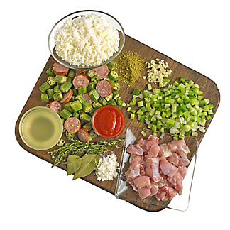 Ready to Cook Chicken and Andouille Sausage Gumbo Kit, ea