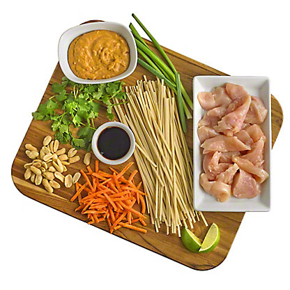 Ready to Cook Spicy Peanut Noodles with Chicken Meal Kit, ea