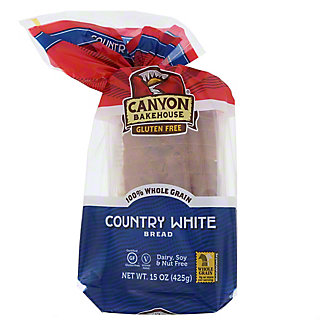 Canyon Bakehouse Gluten Free Country White Bread, 15 oz