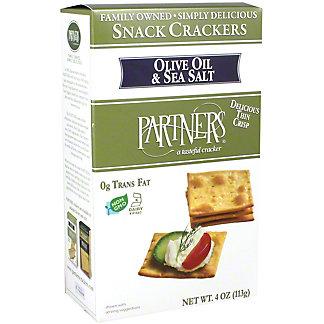 Partner Snack Crackers Olive Oil & Sea Salt, 4 oz