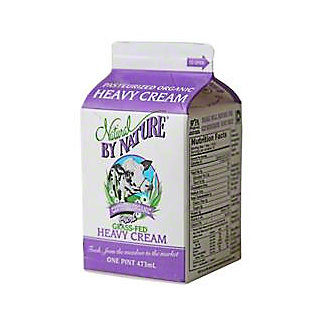 Natural By Nature Organic Heavy Whipping Cream, 16 OZ