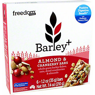 Barley+ Cranberry Almond Bar, 7.4 OZ