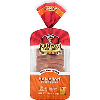 Canyon Bakehouse Gluten Free Hawaiian Sweet Bread, 15 oz