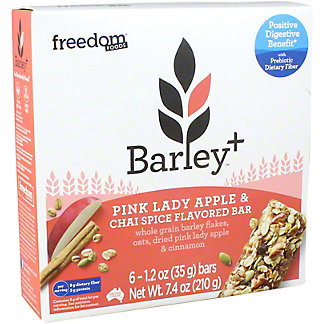 Barley+ Pink Lady Apple And Chai Spice Bar, 7.4