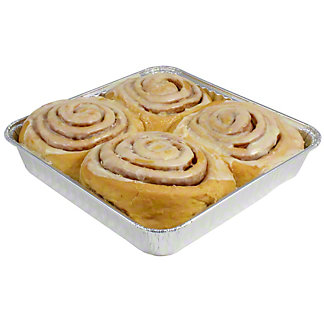Central Market Orange Cinnamon Rolls, 4 ct