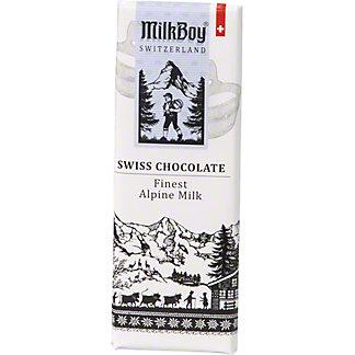 Milkboy Swiss Alpine Milk Chocolate Bar, 1.4 oz