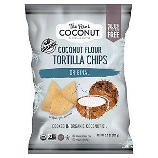 The Real Coconut Tortilla Chip Coconut Flour Original, 5.5 oz
