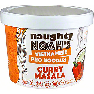 Naughty Noah's Curry Masala Pho Noodles, 1.83 oz