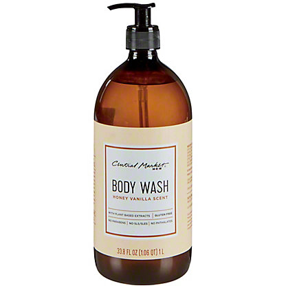 Central Market Honey Vanilla Body Wash, 33.8 oz