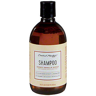 Central Market Honey Vanilla Shampoo, 16.9 oz