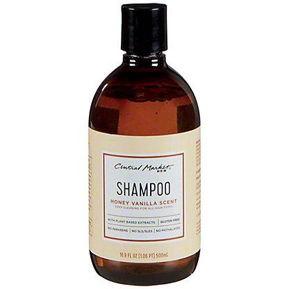 Central Market Honey Vanilla Shampoo, 16.9 oz
