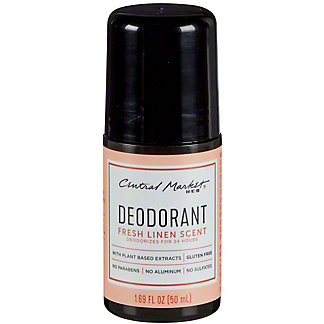 Central Market Fresh Linen Deodorant, 1.7 oz