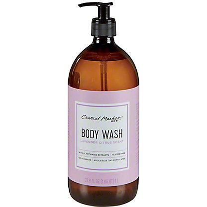 Central Market Lavender Citrus Body Wash, 33.8 oz