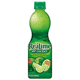 ReaLime 100% Lime Juice, 15 oz