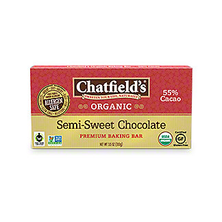 Chatfields Semi-sweet Baking Bar, 3.5 oz