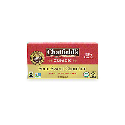 Chatfields Semi-sweet Baking Bar, 3.5 oz