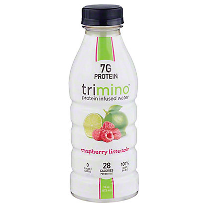 Trimino Raspberry Lime Protein Water, 16 oz