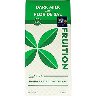 Fruition Flor De Sal 56% Sea Salt Bar, 60 g